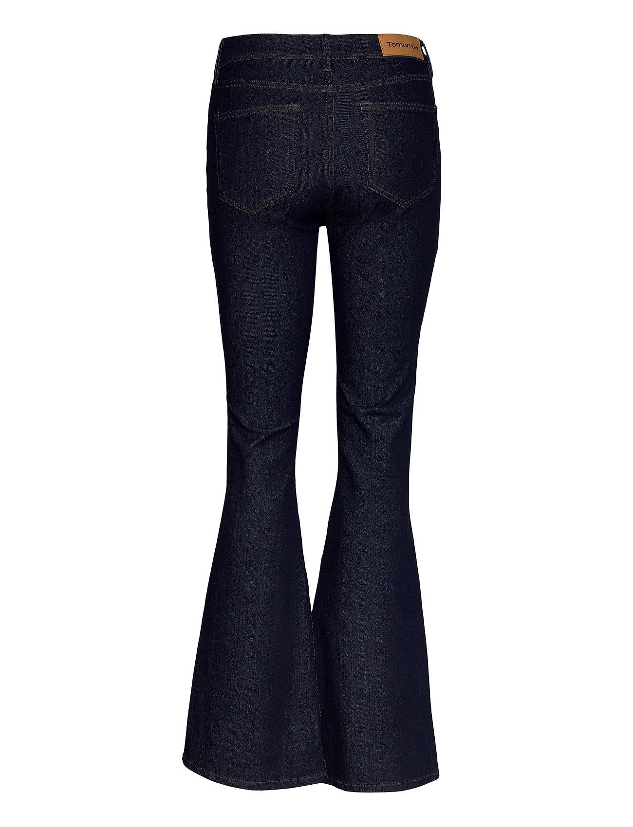 Tomorrow - Albert flare jeans Rinse - schlaghosen - denim blue - 1