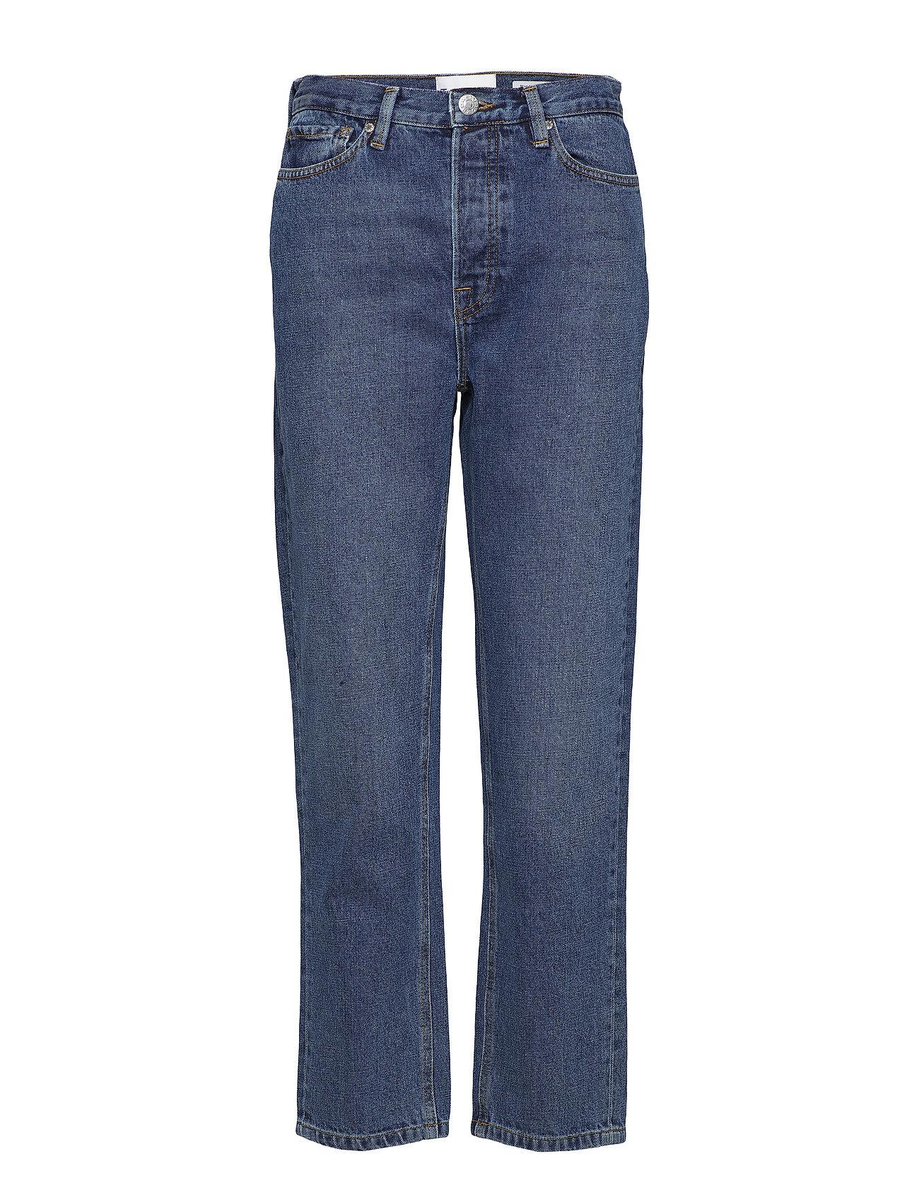 Tomorrow Mandela HW straight jeans wash Oxford