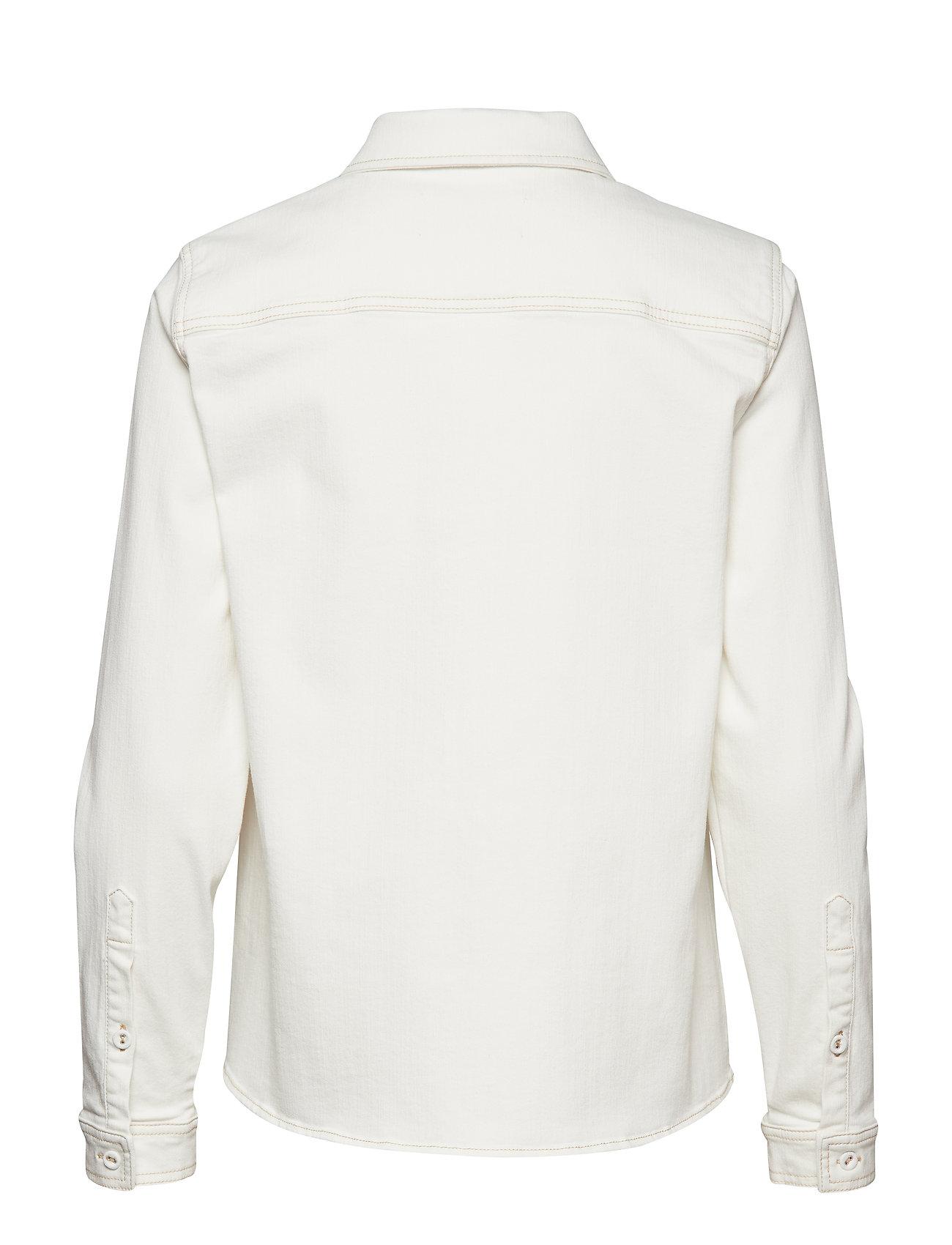 Tomorrow - Bowie Ecru shirt - langärmlige hemden - ecru - 1