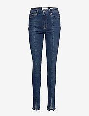 Tomorrow - Bowie HW jeans special Prato - skinny farkut - denim blue - 0
