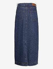 Tomorrow - Mandela maxi skirt wash dark Oxford - denim skirts - denim blue - 1