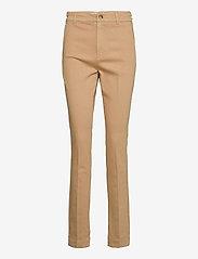 Dylan tailor pant color - WARM KHAKI