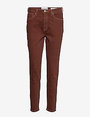 Tomorrow - Hepburn HW mom coffee brown - mom-jeans - coffee brown - 0