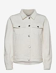 Tomorrow - Kersee puff jacket ecru - jeansjacken - ecru - 0