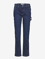 Tomorrow - Lincoln worker pant wash Hounston - schlaghosen - 51 denim blue - 0