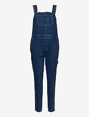 Tomorrow - Lincoln overall wash Sao Paulo - mom jeans - denim blue - 0