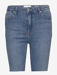 Tomorrow - Bowie HW shorts wash bright Sintra - jeansshorts - denim blue - 0