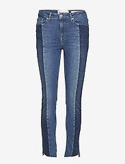 Tomorrow - Bob cropped jeans wash Brighton - skinny jeans - 51 denim blue - 0