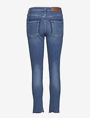 Tomorrow - Bob cropped jeans wash Brighton - skinny jeans - 51 denim blue - 1