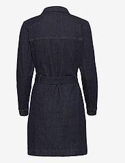 Tomorrow - Dylan Denim Dress Raw Indigo - alltagskleider - denim blue - 1