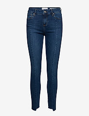Tomorrow - Dylan MW cropped wash Florence - skinny jeans - denim blue - 0
