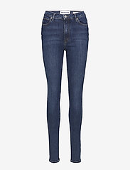 Tomorrow - Bowie HW skinny wash Stockholm - skinny jeans - 51 denim blue - 0