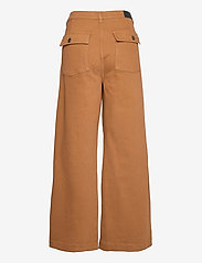 Tomorrow - Kersee french jeans antique colour - hosen mit weitem bein - brown - 1