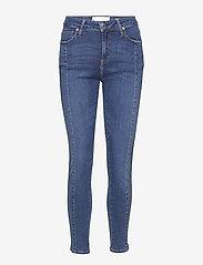 Tomorrow - Dylan MW cropped wash Texas - skinny jeans - 51 denim blue - 0