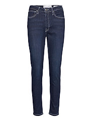 Hepburn HW mom wash Dark Nashville - DENIM BLUE