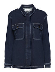 Lincoln worker jacket wash Hounston - 51 DENIM BLUE