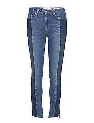 Bob cropped jeans wash Brighton - 51 DENIM BLUE