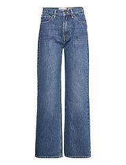 Brown Straight Jeans Bright Orlando - DENIM BLUE