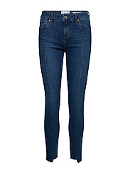 Dylan MW cropped wash Florence - DENIM BLUE