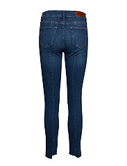 Tomorrow - Dylan MW cropped wash Florence - skinny jeans - denim blue - 1