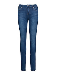 Dylan MW skinny wash Palermo - DENIM BLUE