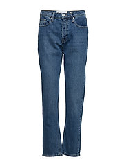 Teresa regular jeans wash bright Orlando - DENIM BLUE
