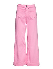 McCartney flare jeans colour - BLUSH
