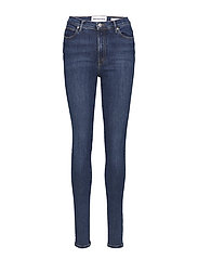 Bowie HW skinny wash Stockholm - 51 DENIM BLUE