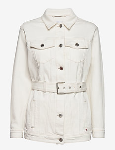 Malcolm belt jacket - ECRU