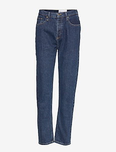 Teresa regular jeans wash dark Orla - suorat - denim blue
