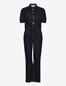 Marston Tracksuit Wash Raw Indigo - jumpsuits - denim blue