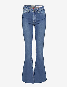 Albert flare wash St. Louis - schlaghosen - 51 denim blue
