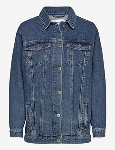 Malcolm jacket wash bright Orlando - jeansjacken - denim blue