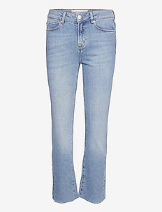 Malcolm kick flare wash Iowa - slim jeans - denim blue