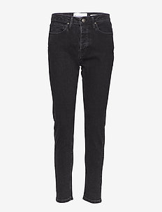 Hepburn HW mom original black - mom jeans - 9 black