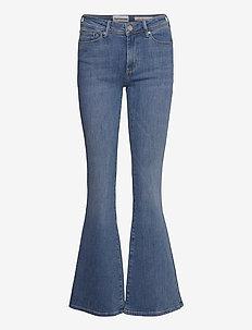 Albert flare jeans wash bright Sint - schlaghosen - denim blue
