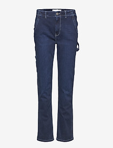 Lincoln worker pant wash Hounston - utsvängda jeans - 51 denim blue