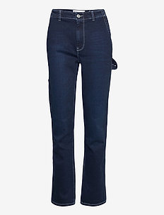 Lincoln worker pant wash Hounston - schlaghosen - denim blue