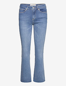 Malcolm kick flare wash Savannah - skinny jeans - denim blue