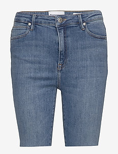 Bowie HW shorts wash bright Sintra - korte jeansbroeken - denim blue