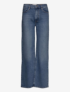 Brown straight jeans wash Lowa - jeans évasés - denim blue
