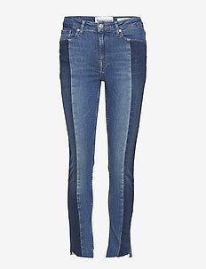 Bob cropped jeans wash Brighton - skinny jeans - 51 denim blue
