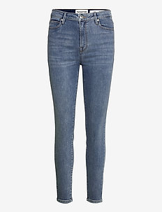 Bowie HW Cropped Los Felix Worn - skinny jeans - denim blue