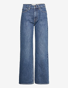 Brown Straight Jeans Bright Orlando - hosen mit weitem bein - denim blue