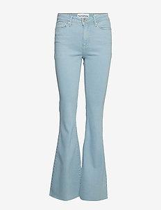Albert flare wash Cinderella - flared jeans - denim blue