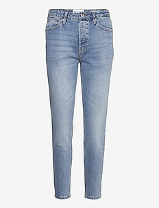 Hepburn HW MOM Key West - straight jeans - denim blue