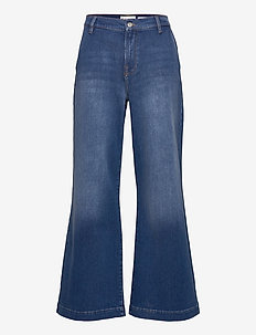 Kersee HW french wash Bilbao - schlaghosen - denim blue