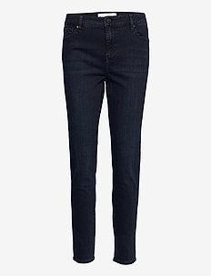 Dylan MW cropped wash Austin - slim jeans - 51 denim blue