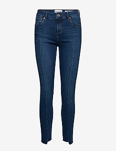 Dylan MW cropped wash Florence - skinny jeans - denim blue
