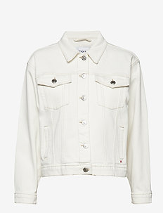 Kersee denim jacket ecru - ECRU